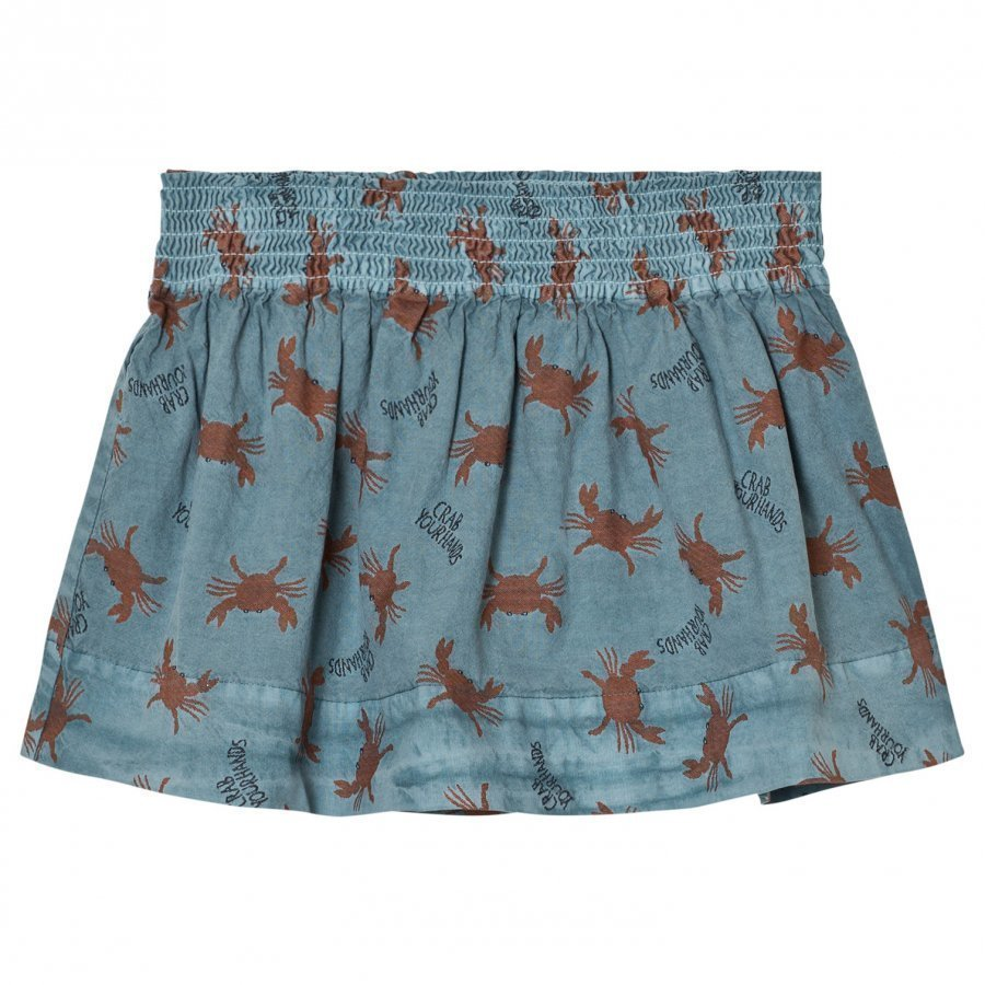 Bobo Choses Flared Skirt Crab Your Hands Midihame
