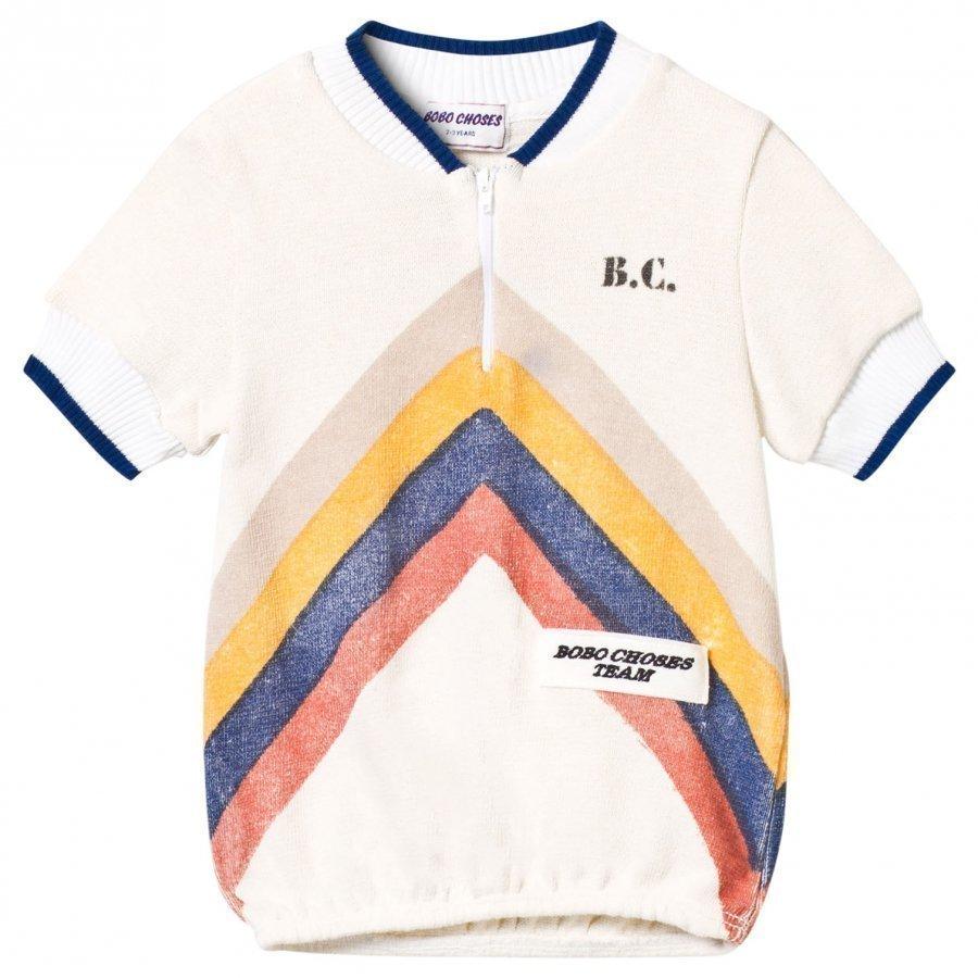 Bobo Choses Gino T-Shirt Track Off White T-Paita