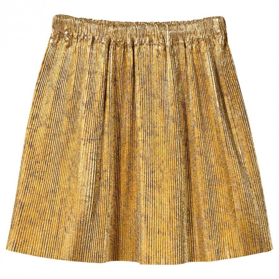 Bobo Choses Golden Pleated Skirt Kellohame