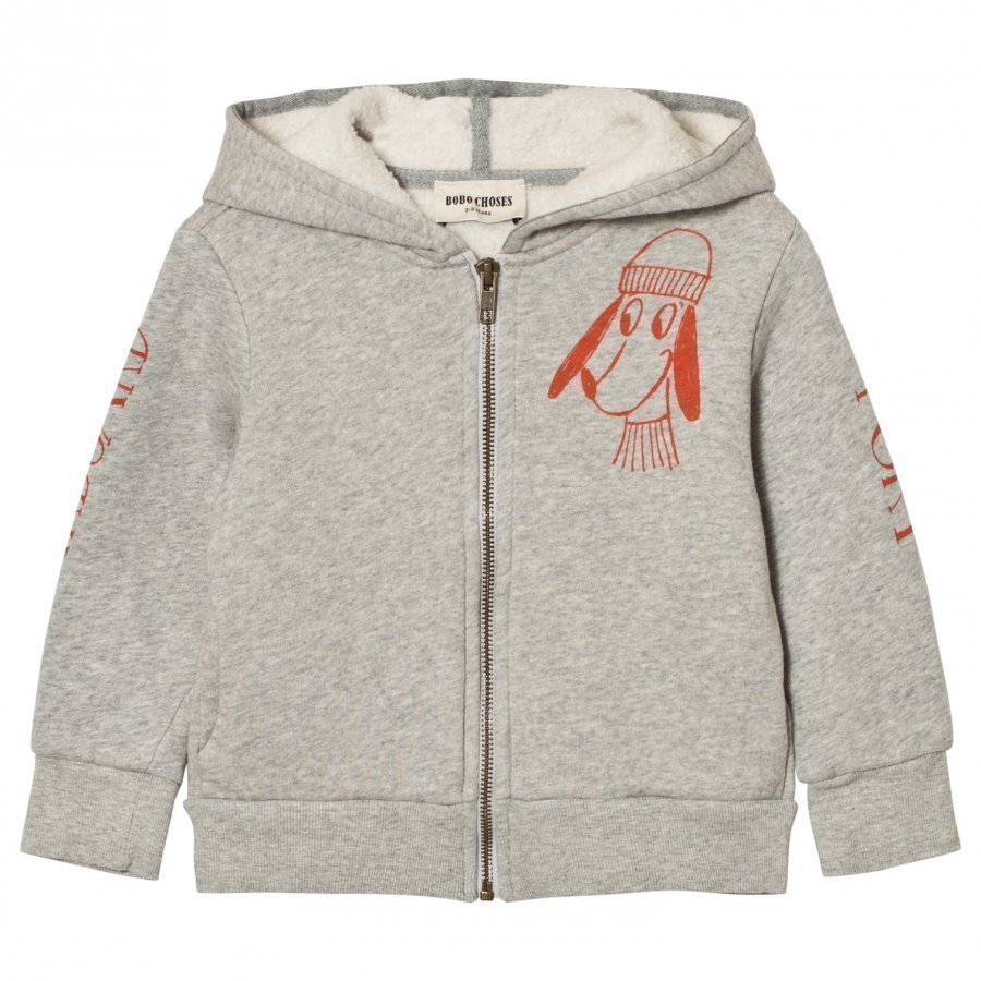 Bobo Choses Hooded Sweatshirt Bow Loup De Mer Huppari