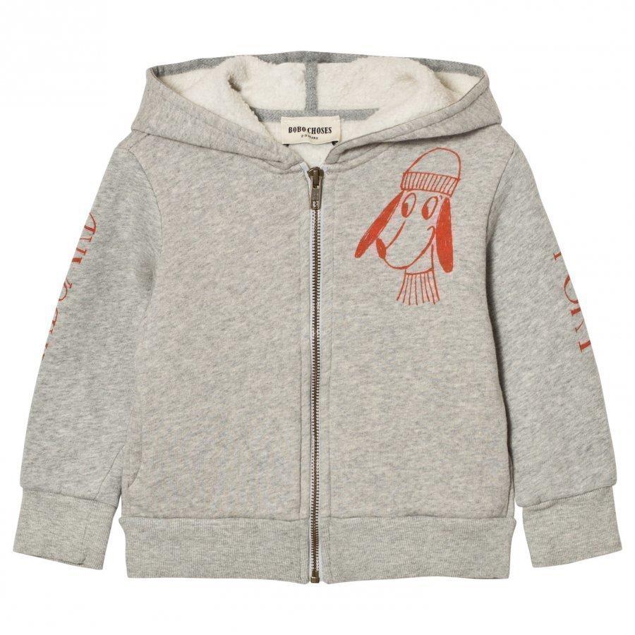 Bobo Choses Hooded Sweatshirt Bow Loup De Mer Huppari