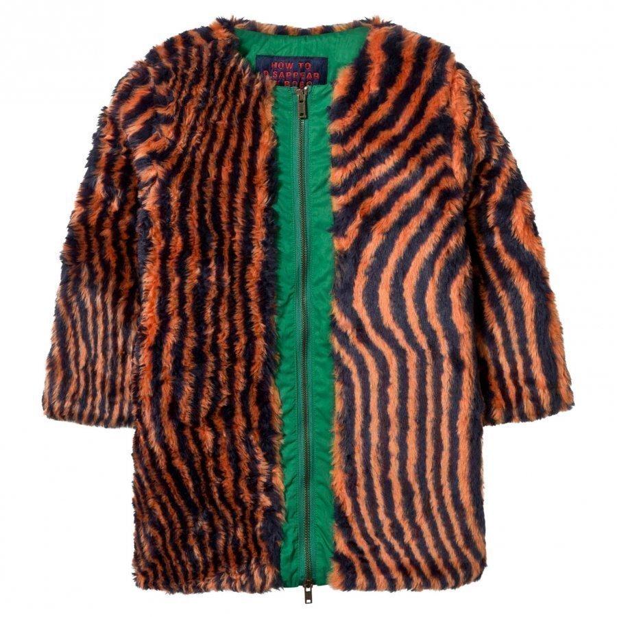 Bobo Choses Hypnotized Faux Fur Coat Turkis