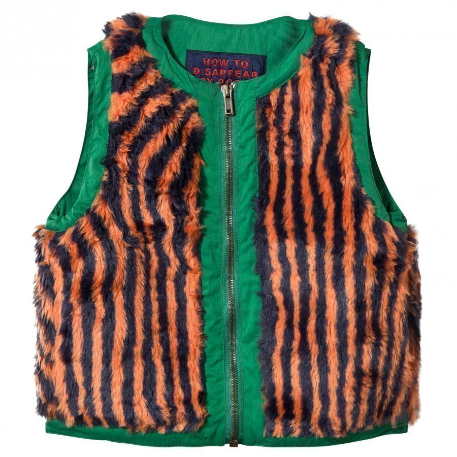 Bobo Choses Hypnotized Faux Fur Vest Toppaliivi