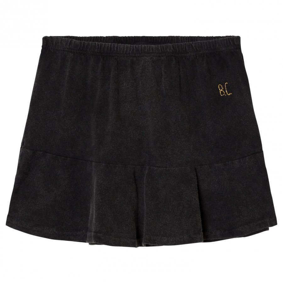 Bobo Choses Jersey Skirt Black Midihame