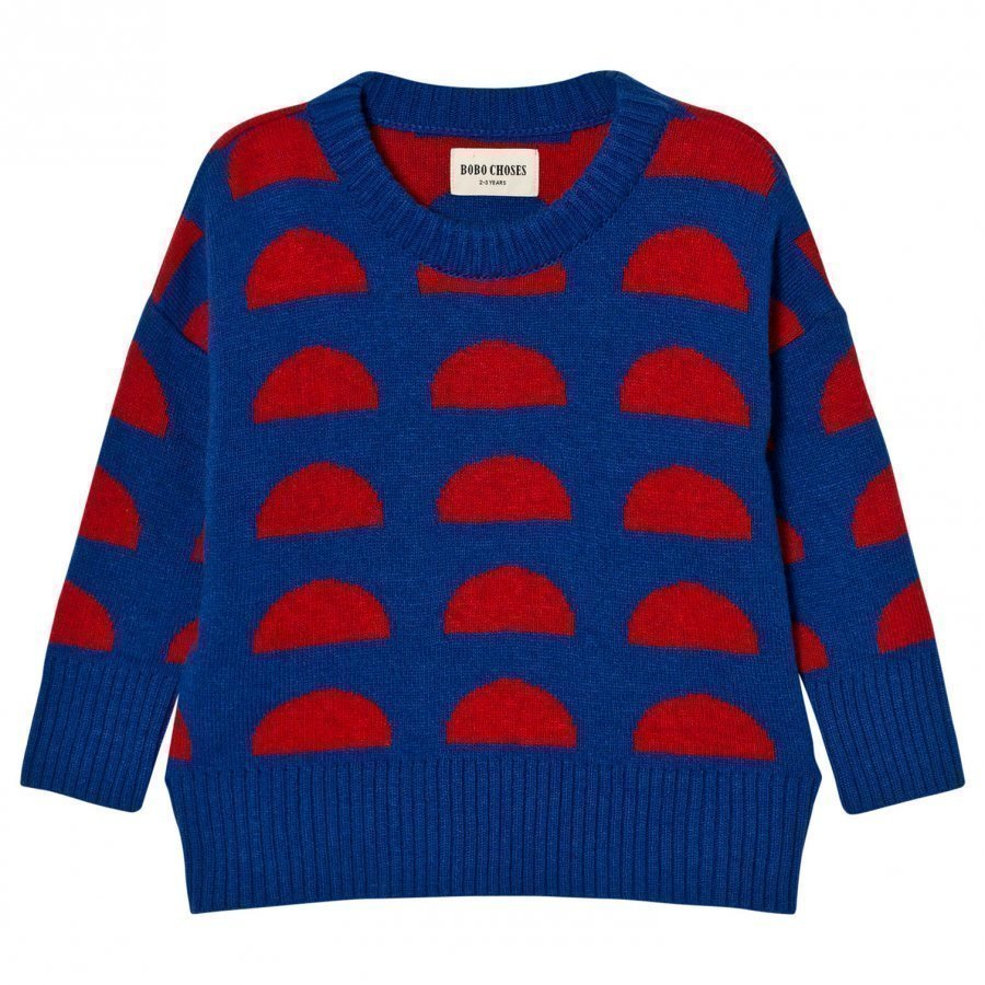 Bobo Choses Knitted Jumper Crests Paita