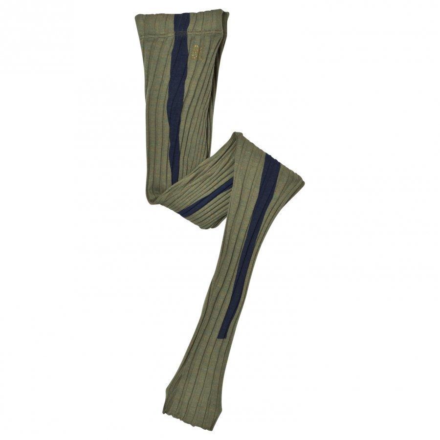 Bobo Choses Leggings Stripe Green Legginsit
