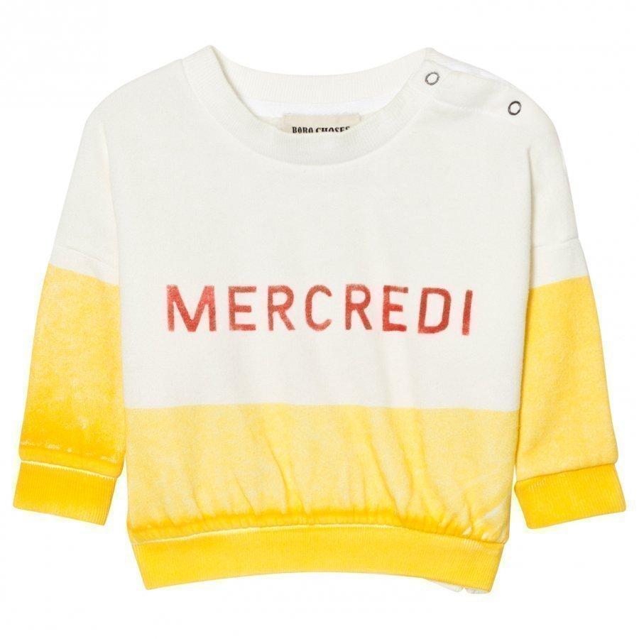 Bobo Choses Mercredi Baby Boat Sweatshirt Oloasun Paita
