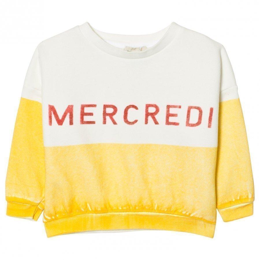 Bobo Choses Mercredi Boat Sweatshirt Oloasun Paita