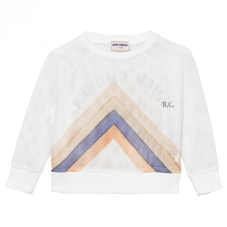 Bobo Choses Nadia Track Sweatshirt Off White Oloasun Paita