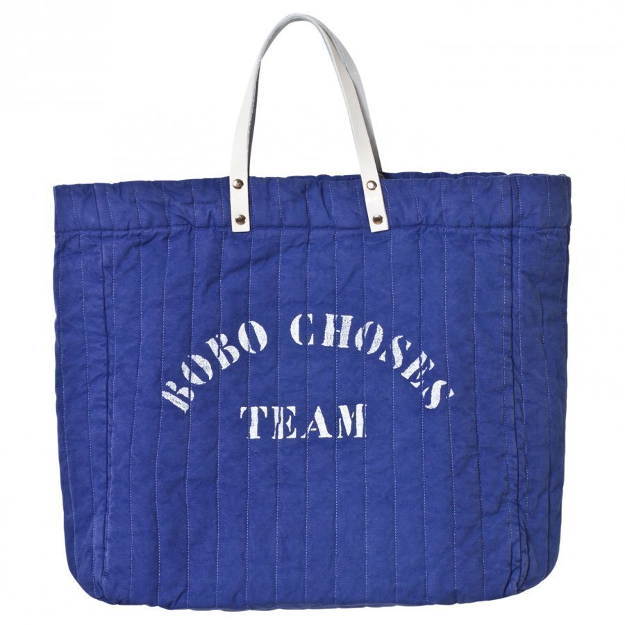 Bobo Choses Padded Tote Bag A Legend Mazarine Blue Kassi