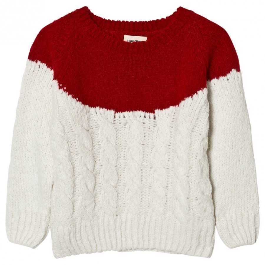 Bobo Choses Plain Yoke Knitted Sweater Paita