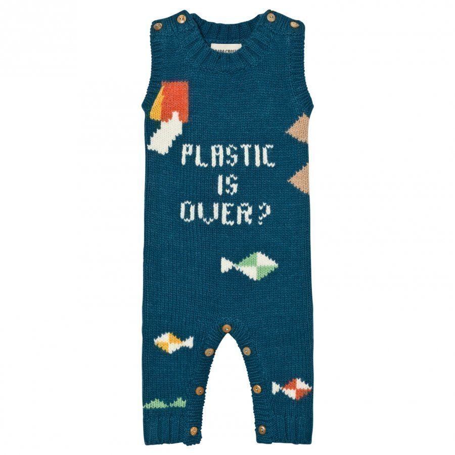 Bobo Choses Plastic Is Over? Intarsia Romper Lappuhaalari