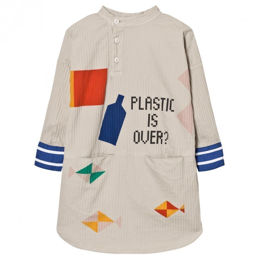 Bobo Choses Plastic Is Over? Tunic Dress Mekko