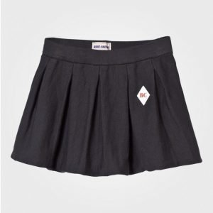 Bobo Choses Pleated Knitted Skirt Black Kellohame