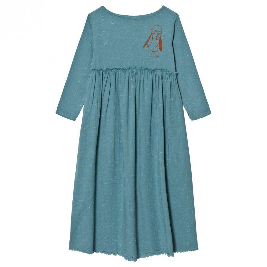Bobo Choses Princess Dress Loup Embroidery Mekko