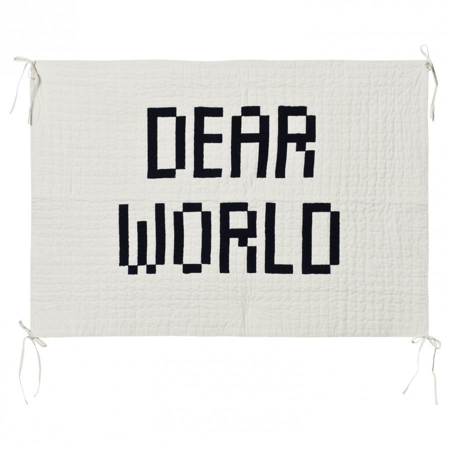 Bobo Choses Quilted Wall Hanger Dear World Seinätarra