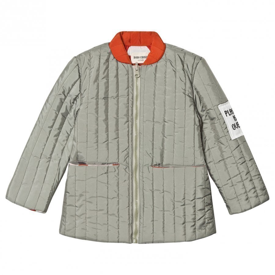 Bobo Choses Reversible Padded Jacket Crests Tikkitakki