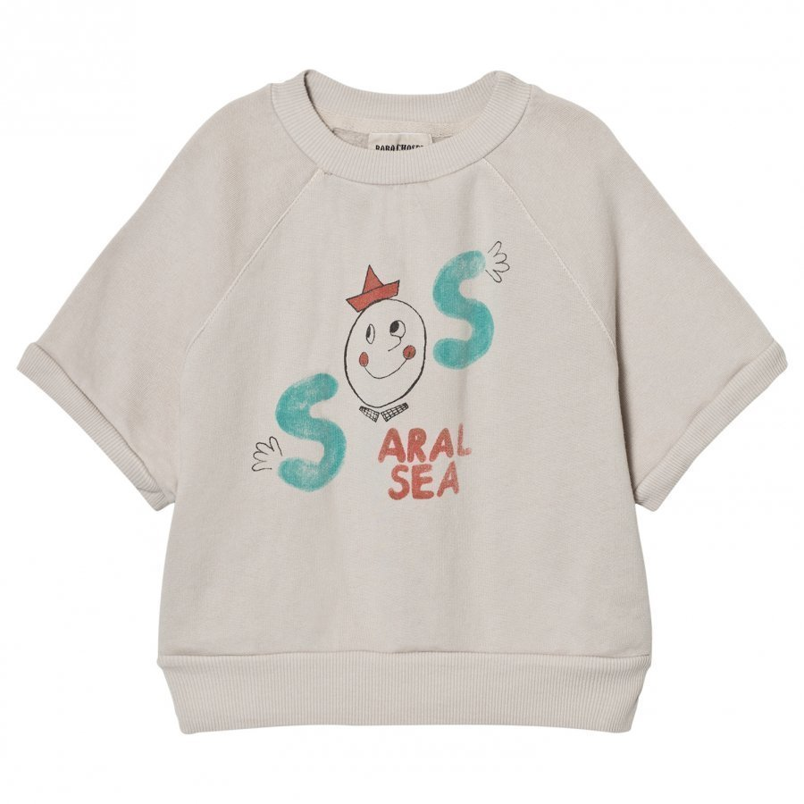 Bobo Choses Short Sleeved Sweatshirt S.O.S T-Paita