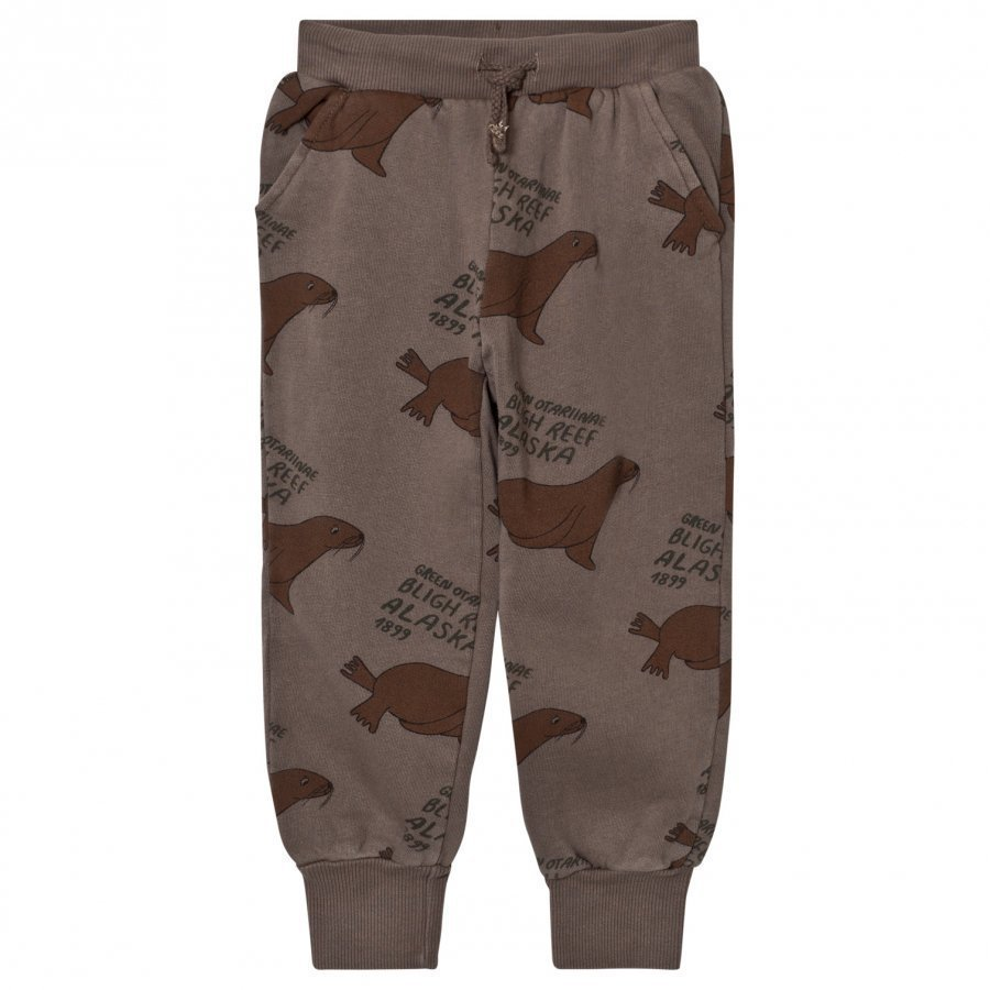 Bobo Choses Soft Pants Green Otariinae Verryttelyhousut