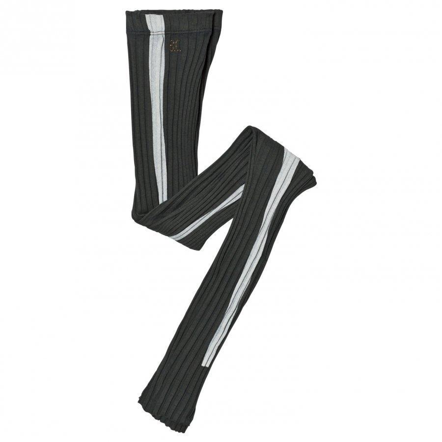 Bobo Choses Stripe Leggings Dark Slate Legginsit