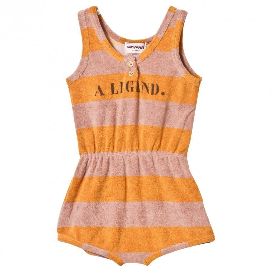 Bobo Choses Striped Terry Romper A Legend Golden Nugget Potkupuku