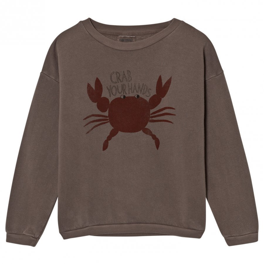 Bobo Choses Sweatshirt Crab Your Hands Oloasun Paita