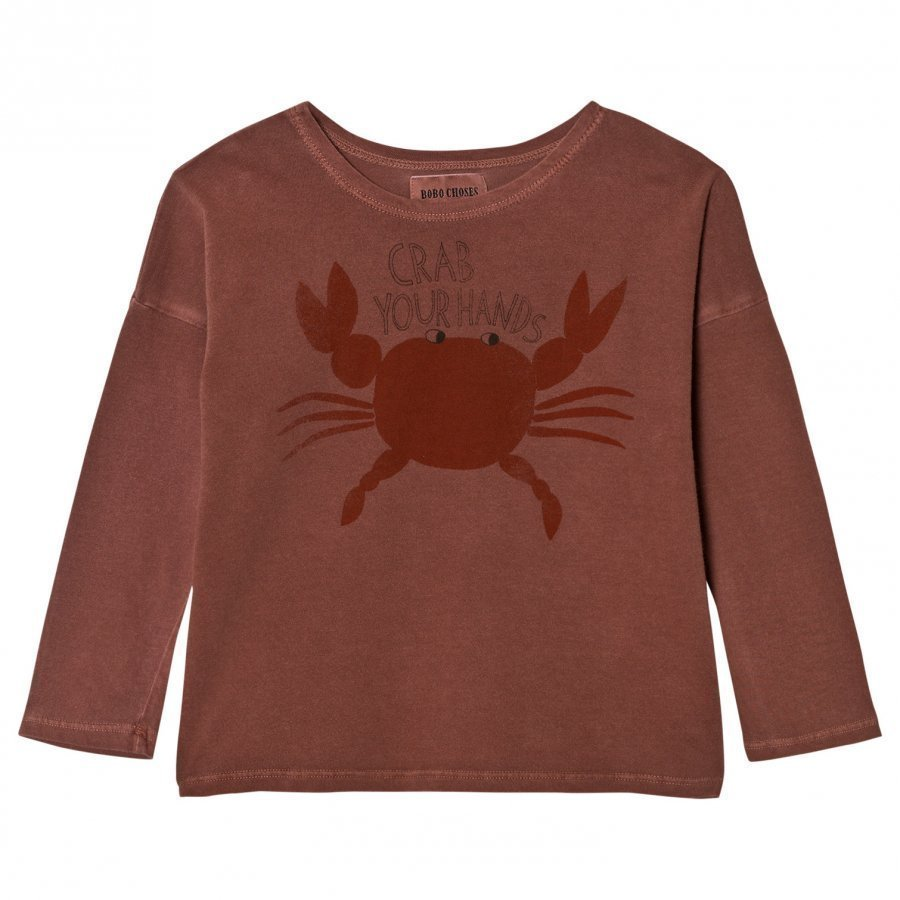 Bobo Choses T-Shirt Crab Your Hands Pitkähihainen T-Paita