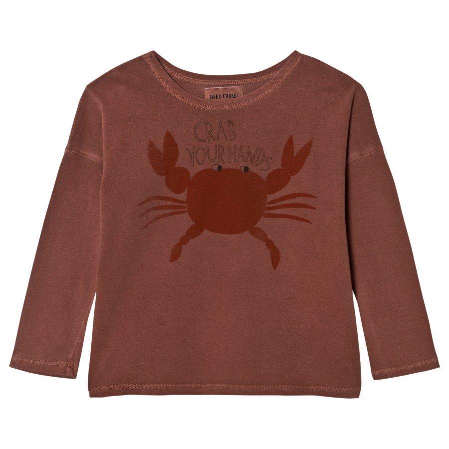Bobo Choses T-Shirt Crab Your Hands Pitkähihainen T-Paita