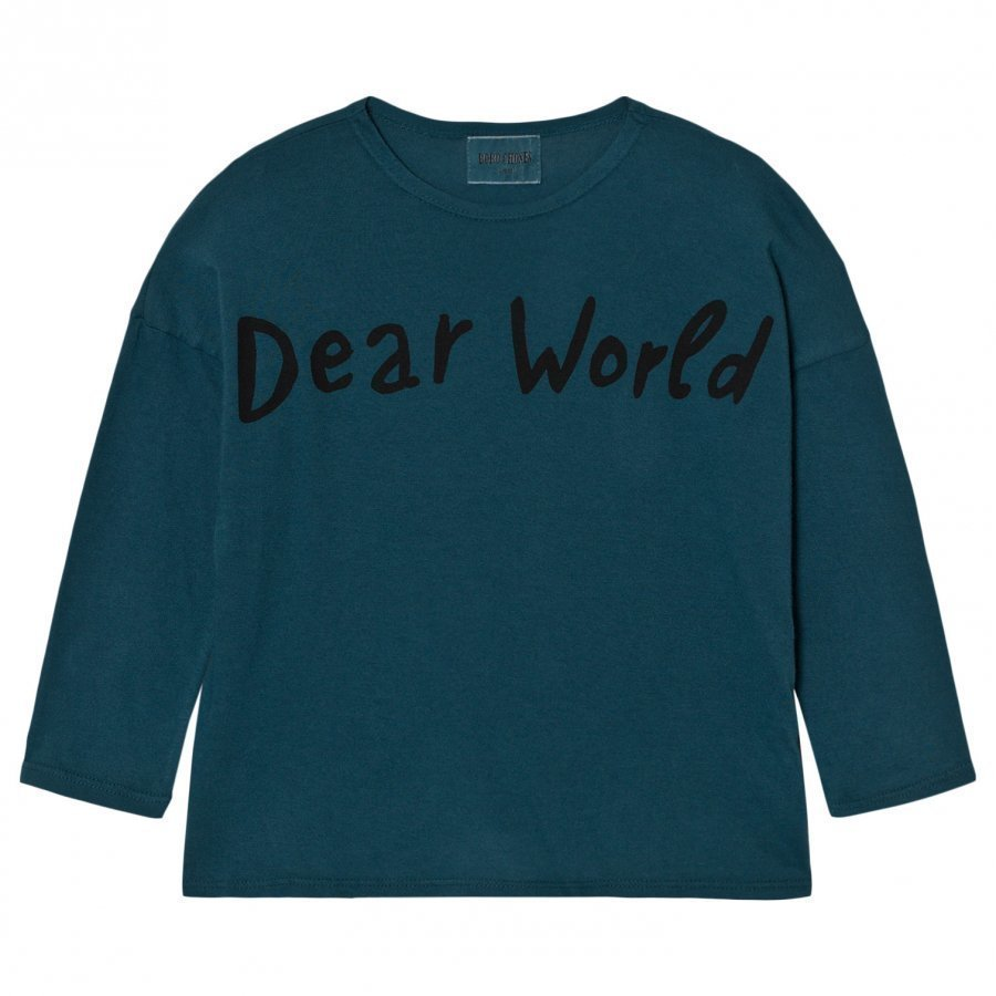 Bobo Choses T-Shirt Dear World Pitkähihainen T-Paita