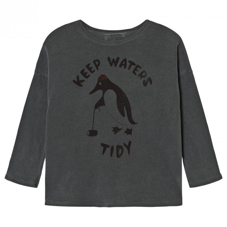 Bobo Choses T-Shirt Keep Waters Tidy Pitkähihainen T-Paita