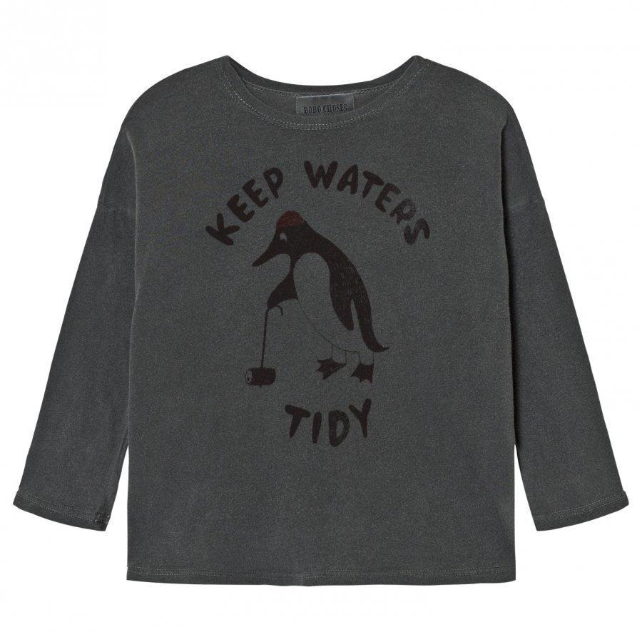 Bobo Choses T-Shirt Keep Waters Tidy Pitkähihainen T-Paita