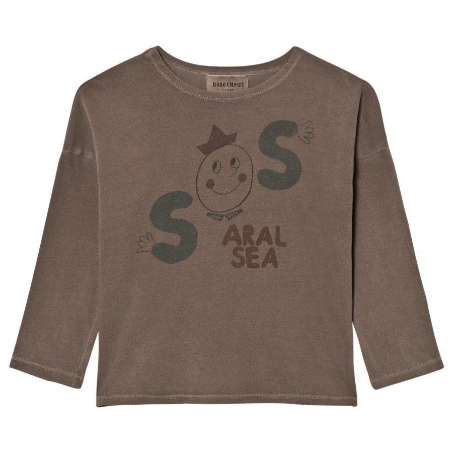 Bobo Choses T-Shirt S.O.S Pitkähihainen T-Paita