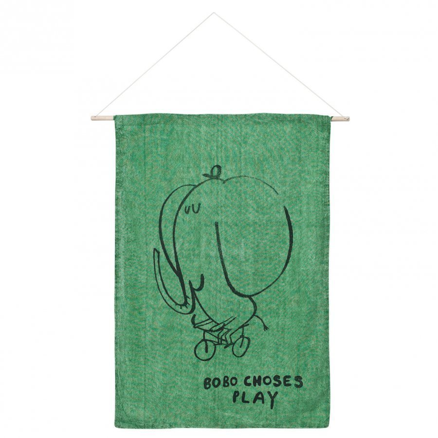 Bobo Choses The Cyclist Wall Banner Mint Juliste