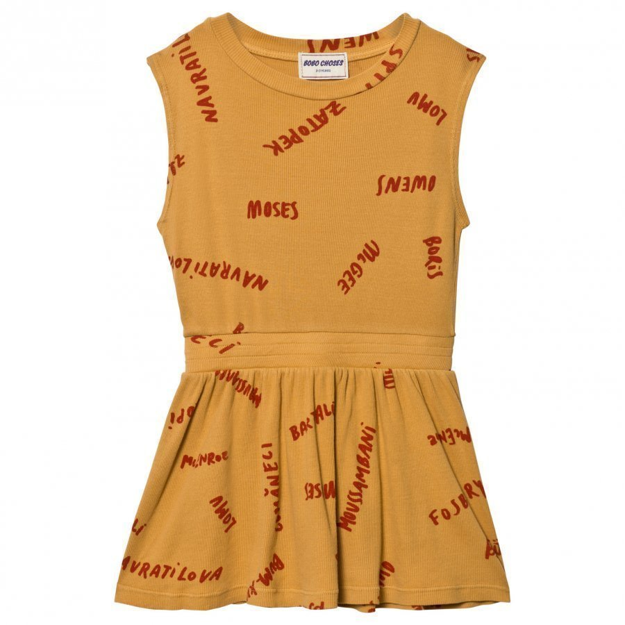 Bobo Choses The Legends Tennis Dress Golden Nugget Tennismekko
