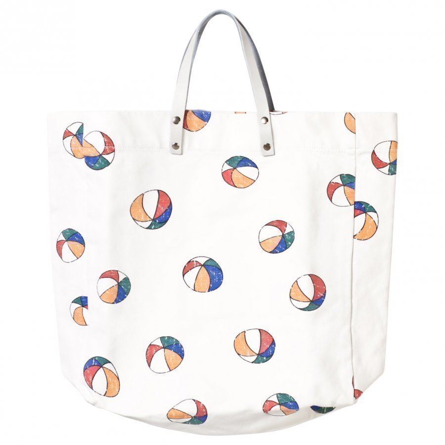 Bobo Choses Tote Bag Basket Ball Off White Kassi