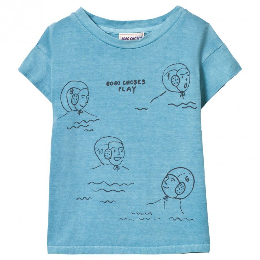Bobo Choses Waterpolo T-Shirt Turquoise Blue T-Paita