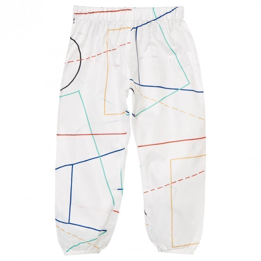 Bobo Choses Waterproof Trousers Court Off White Sadehousut