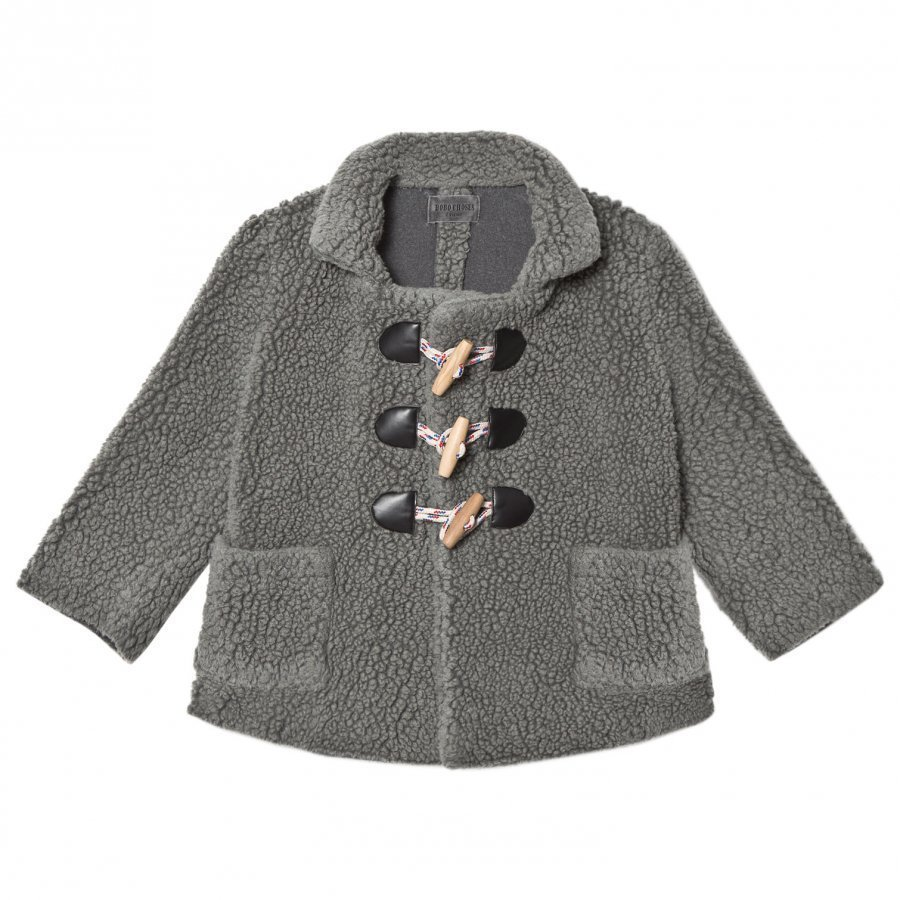 Bobo Choses Wool Jacket Patch Duffelitakki