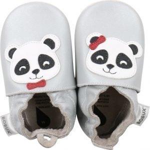 Bobux Tossut Silver Panda Hopea