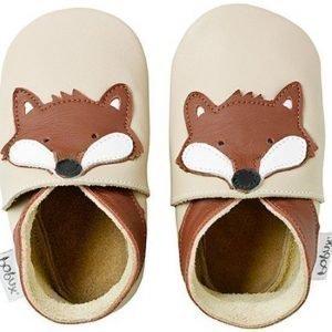 Bobux Vauvantossut Beige Fox