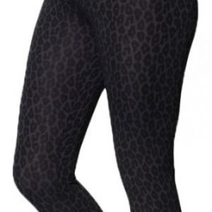 Boob Äitiysleggingsit OONO Leggings Leo print Grey/Black