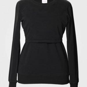 Boob B·warmer Sweatshirt Black Collegepusero Äidille