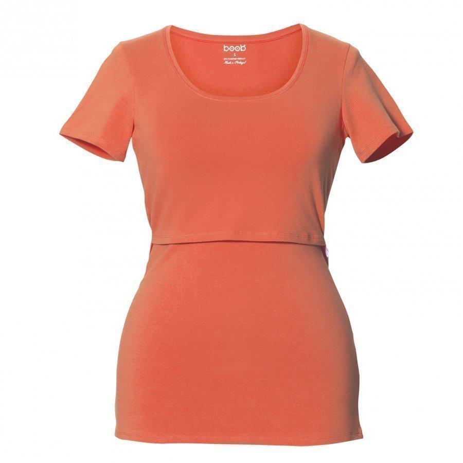 Boob Classic Top Short Sleeve Melon T-Paita Äidille