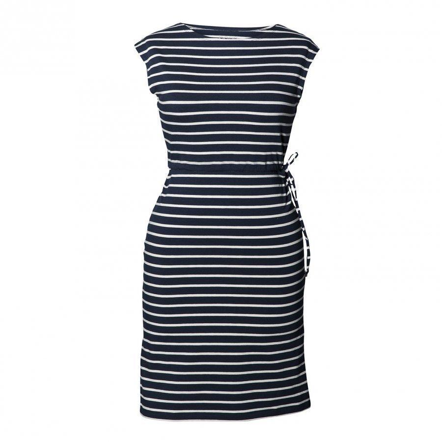 Boob Dress Simone Midnight Blue Off-White Raskausmekko