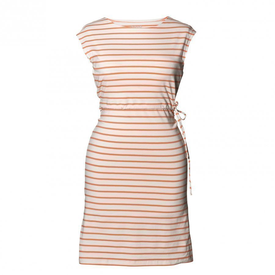 Boob Dress Simone Off-White Melon Raskausmekko