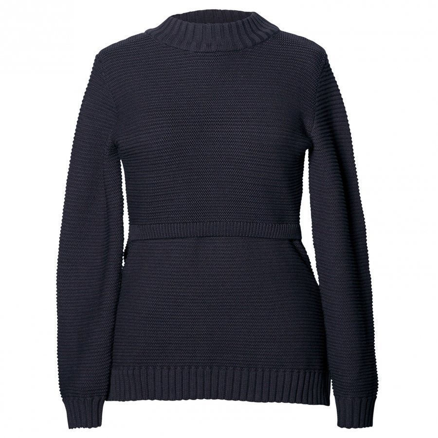 Boob Ellen Rib Knitted Sweater Midnight Blue Pusero Äidille