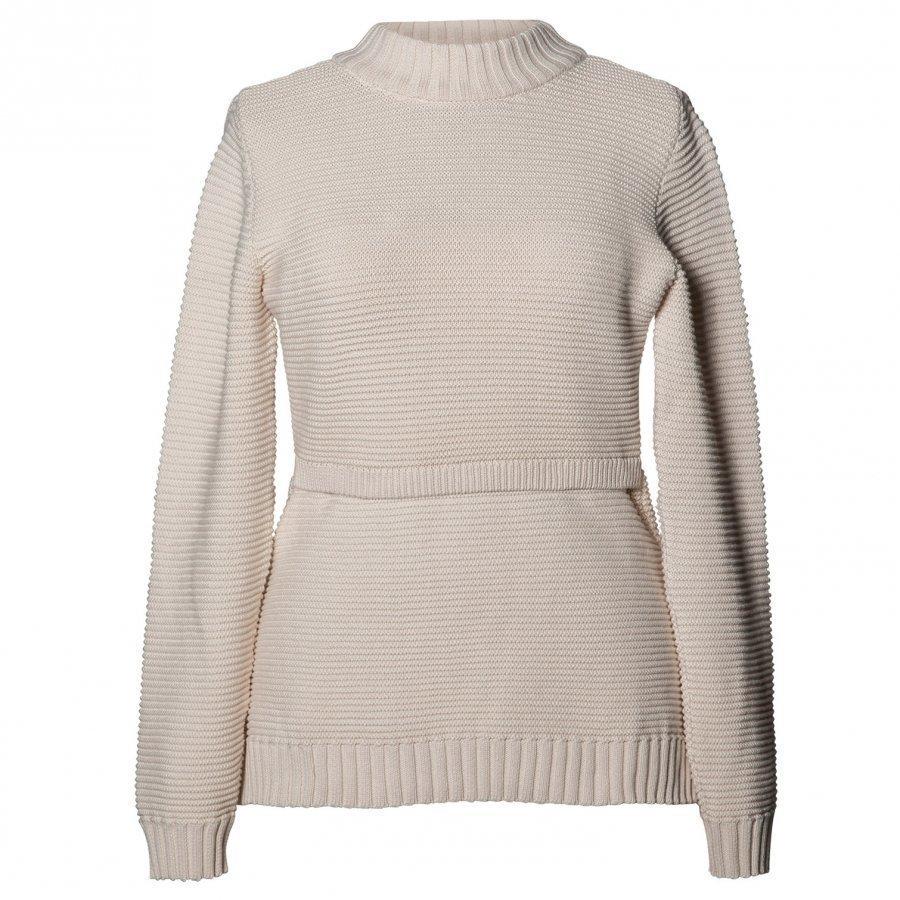Boob Ellen Rib Sweater Off White Pusero Äidille