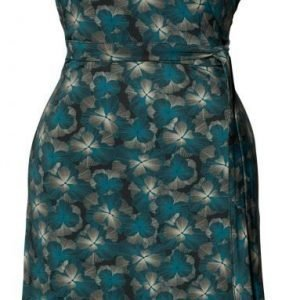 Boob Imetysmekko Wrap Dress Charlie Print Green Pool