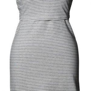 Boob Imetysmekko Yöpaita Stripe offwhite/grey melange