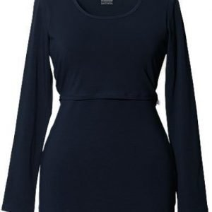 Boob Imetyspusero Classic Top Long Sleeve Midnight blue